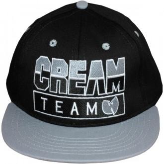 Casquette Snapback Wu-Tang Brand - Cream Team Snapback - Black