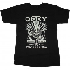 T-Shirt Obey - Til The End - Black