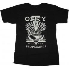 T-Shirt Obey - Til The End - Black