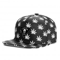 Casquette Snapback Cayler And Sons - Leafs n Stripes 2Tone Cap - Black / White
