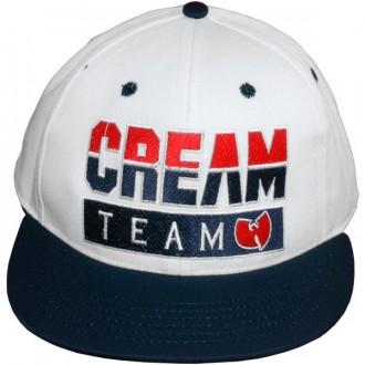 Casquette Snapback Wu-Tang Brand - Cream Team Snapback - White