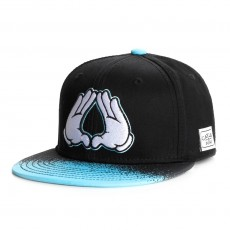 Casquette Snapback Cayler And Sons - Brooklyn Diner Cap - Black / Neon Blue