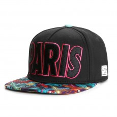 Casquette Snapback Cayler And Sons - Paris Life Cap - Black / Mc