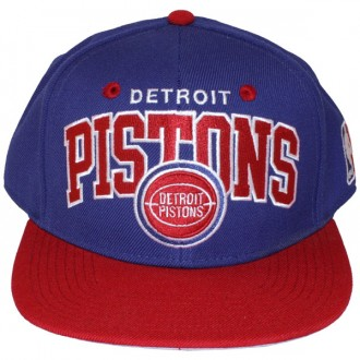 Casquette Snapback Mitchell & Ness - NBA 2 Tone Adjustable - Detroit Pistons