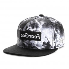 Casquette Snapback Cayler And Sons - Fear God Cap - Black / White