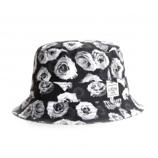 Chapeau Bob Cayler And Sons - White Roses Bucket Hat - White Roses