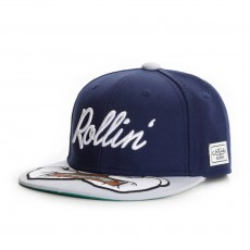 Casquette Snapback Cayler And Sons - Rollin Cap - Navy / Grey / Mc