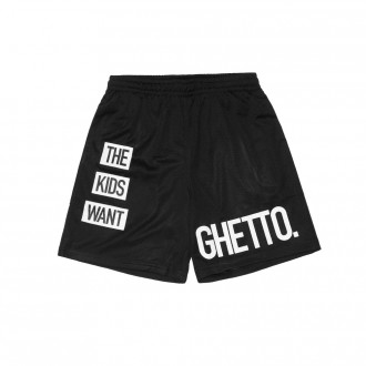 Short Cayler And Sons - BL Kids Want Mesh Shorts - Black / White