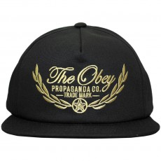 Casquette Snapback Obey - Wreath Snapback - Black