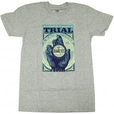 T-Shirt Obey - The Human Trial - Heather Grey
