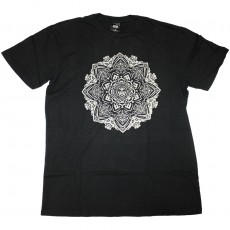 T-Shirt Obey - Mandala - Black