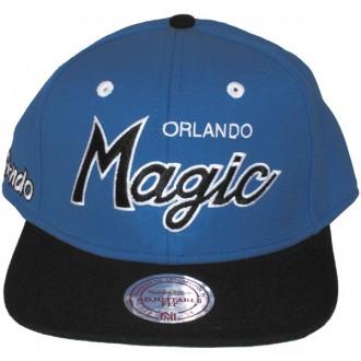 Casquette Snapback Mitchell & Ness - NBA 2 Tone Script - Orlando Magic