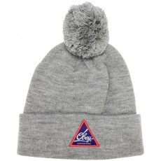 Bonnet Obey - Albany Pom Beanie - Heather Grey
