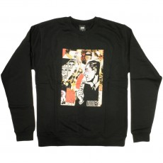 Sweat-Shirt Obey - Post No Bills - Black
