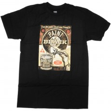 T-Shirt Obey - Paint It Black Fine Art - Black