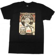 T-Shirt Obey - Paint It Black Fine Art - Black