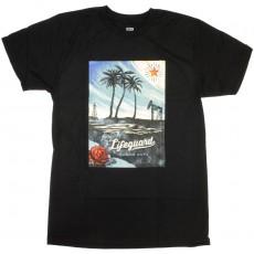 T-Shirt Obey - Lifeguard Not On Duty - Black