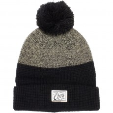 Bonnet Obey - Madison Beanie - Black / Cream