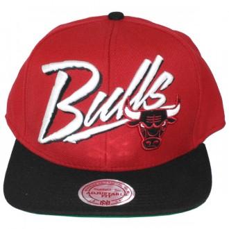 Casquette Snapback Mitchell & Ness - NBA Vice Script - Chicago Bulls