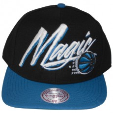 Casquette Snapback Mitchell & Ness - NBA Vice Script - Orlando Magic