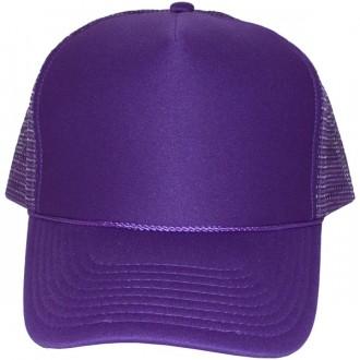 Casquette Trucker Masterdis - Purple Baseball Cap