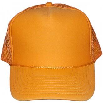 Casquette Trucker Masterdis - Yellow Baseball Cap