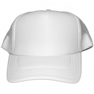 Casquette Trucker Masterdis - White Baseball Cap