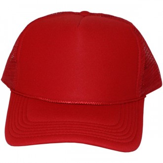 Casquette Trucker Masterdis - Red Baseball Cap