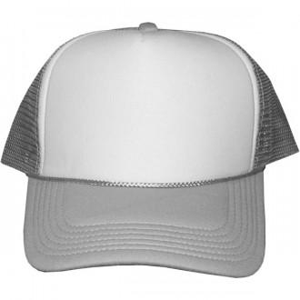 Casquette Trucker Masterdis - Silver / White Baseball Cap