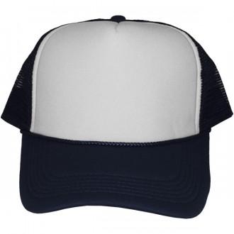 Casquette Trucker Masterdis - Navy Blue / White Baseball Cap