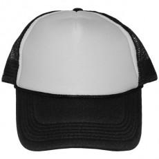 Casquette Trucker Masterdis - Black / White Baseball Cap