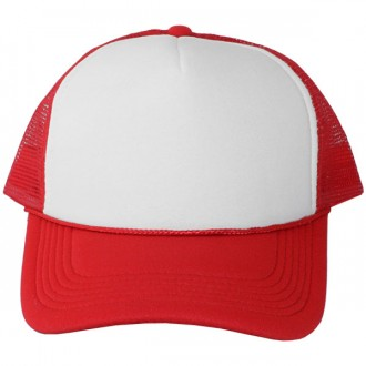 Casquette Trucker Masterdis - Red / White Baseball Cap