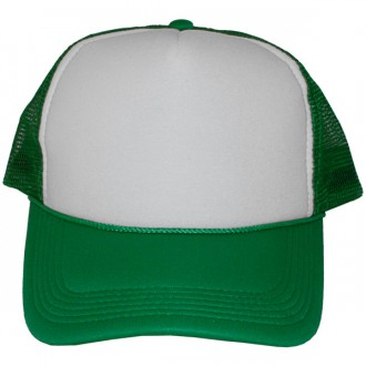 Casquette Trucker Masterdis - Kelly Green / White Baseball Cap