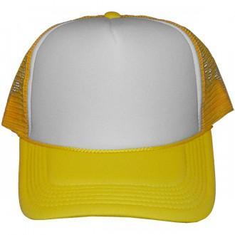 Casquette Trucker Masterdis - Yellow / White Baseball Cap