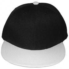 Casquette Snapback Masterdis - Black / White Original Retro Blank Cap