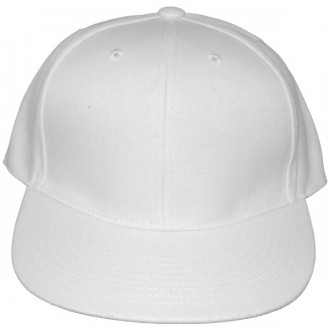 Casquette Snapback Masterdis - White Original Retro Blank Cap