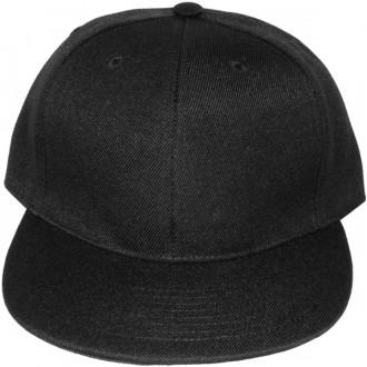 Casquette Snapback Masterdis - Black Original Retro Blank Cap