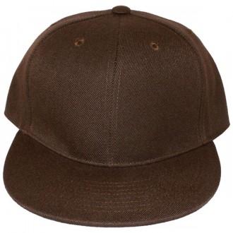 Casquette Snapback Masterdis - Brown Original Retro Blank Cap