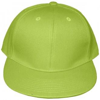 Casquette Snapback Masterdis - Lime Green Original Retro Blank Cap