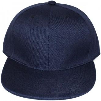 Casquette Snapback Masterdis - Navy Blue Original Retro Blank Cap