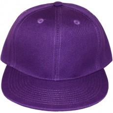 Casquette Snapback Masterdis - Purple Original Retro Blank Cap