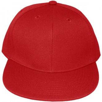 Casquette Snapback Masterdis - Red Original Retro Blank Cap