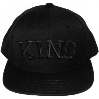 Casquette Snapback King Apparel - Defy Starter Snapback Black