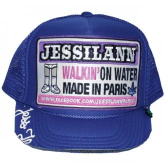 Casquette Trucker Jessilann - Walkin' On Water - Royal Blue
