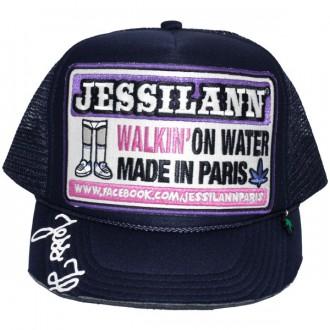 Casquette Trucker Jessilann - Walkin' On Water - Navy Blue