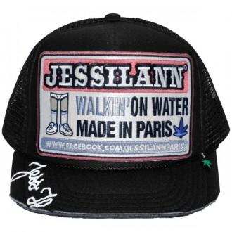 Casquette Trucker Jessilann - Walkin' On Water - Black