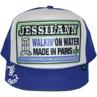 Casquette Trucker Jessilann - Walkin' On Water - Royal Blue