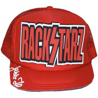Casquette Trucker Jessilann - Rackstarz - Red