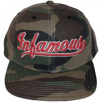 Casquette Snapback Rocksmith - Infamous Snapback - Camouflage Green