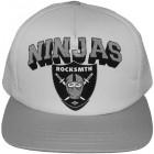 Ninja Trucker Snapback - White